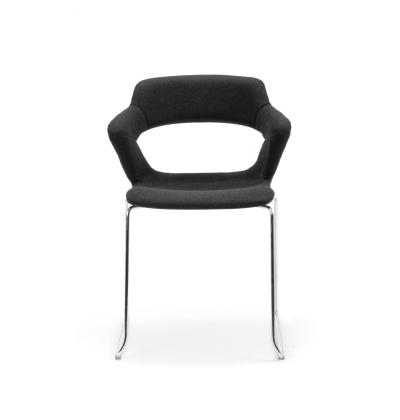 CS Zen Black Sled Upholstered 4