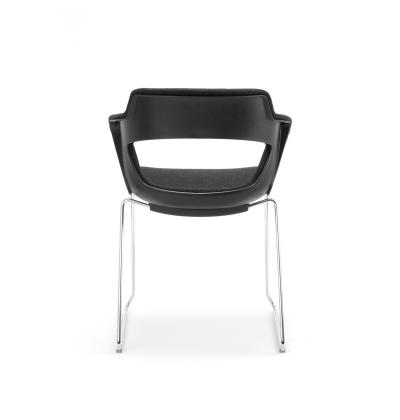 CS Zen Black Sled Upholstered 6