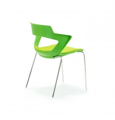 CS Zen Green fourleg Upholstered 4