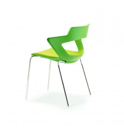 CS Zen Green fourleg Upholstered 6
