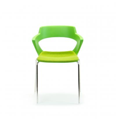 CS Zen Green fourleg Upholstered