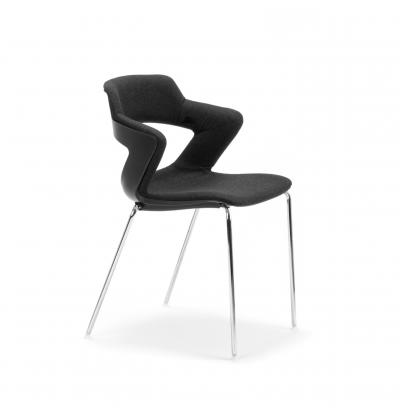 CS Zen black upholstered FourLeg