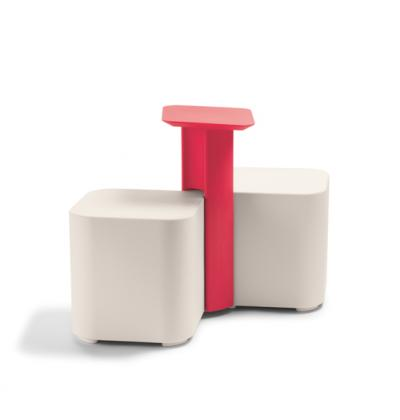 Friends stool white plus table b