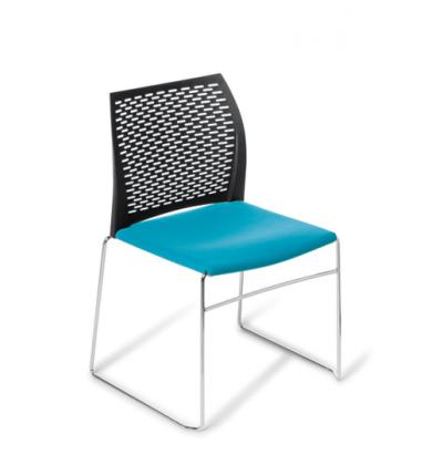 Net seat upholst black b