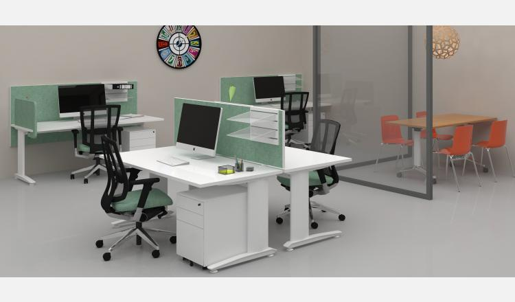 Scene Accent Energy desks w Cube mobile + Boost table 8 3724 x 2313