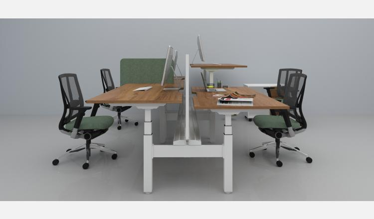 Scene Accent Summit desk pod electric 138